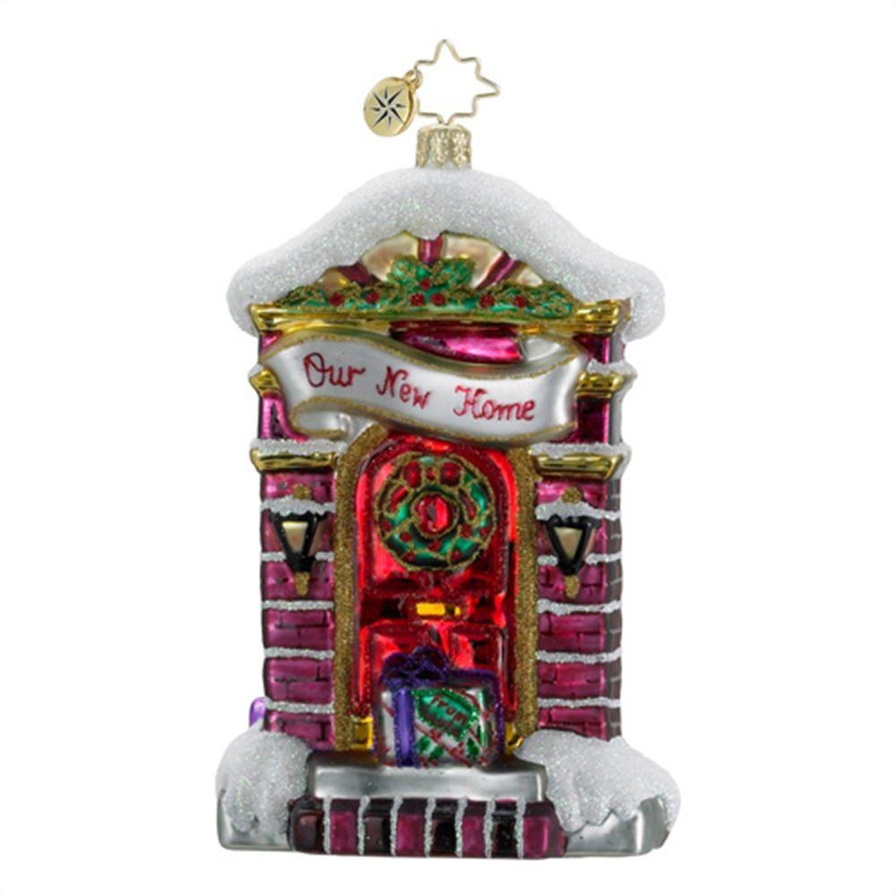 Home christmas ornaments - Christopher Radko Ornaments 2014 Radko New Home Christmas Ornament A Grand Entrance