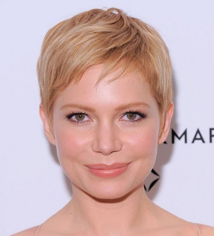 Pixie Cut Cute Strawberry Blonde Pixie Haircut Great For Women