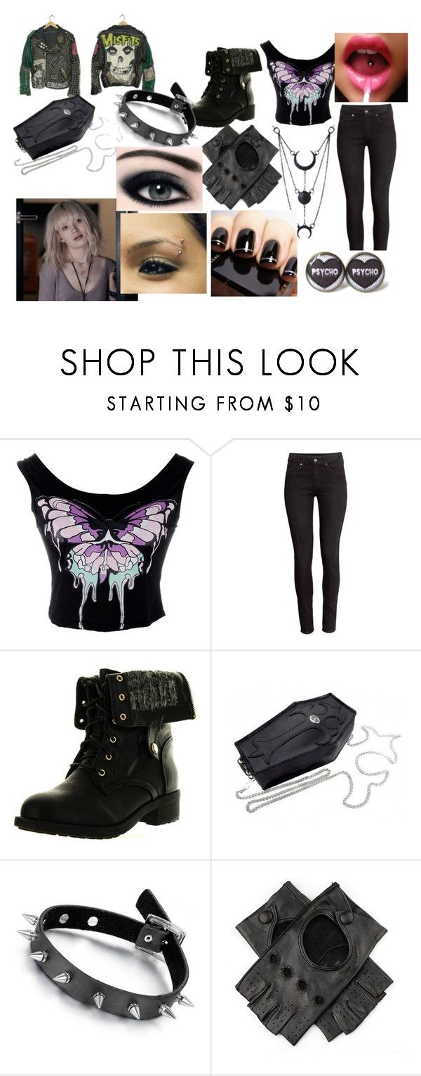 """""""going out"""" by rachelfox985 on Polyvore featuring H&M and Refresh"""