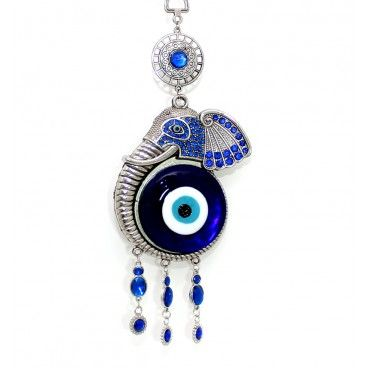 This Is A Elephant With Blue Eye Hanging The Blue Evil Eye Or Lucky
