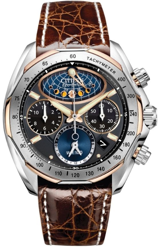 Citizen Mens Flyback Chronograph Watch <~~~ This is my business steelo! :)