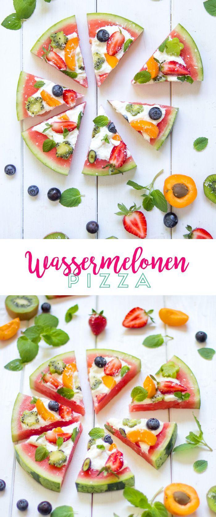 Photo of Watermelon Pizza – #dessertsommer # WatermelonPizza