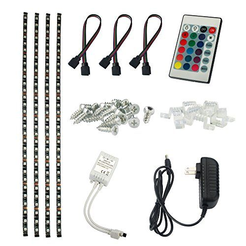 1899 Aled Light 5050 Rgb Usb Led Light Strip Kit 50cmx4