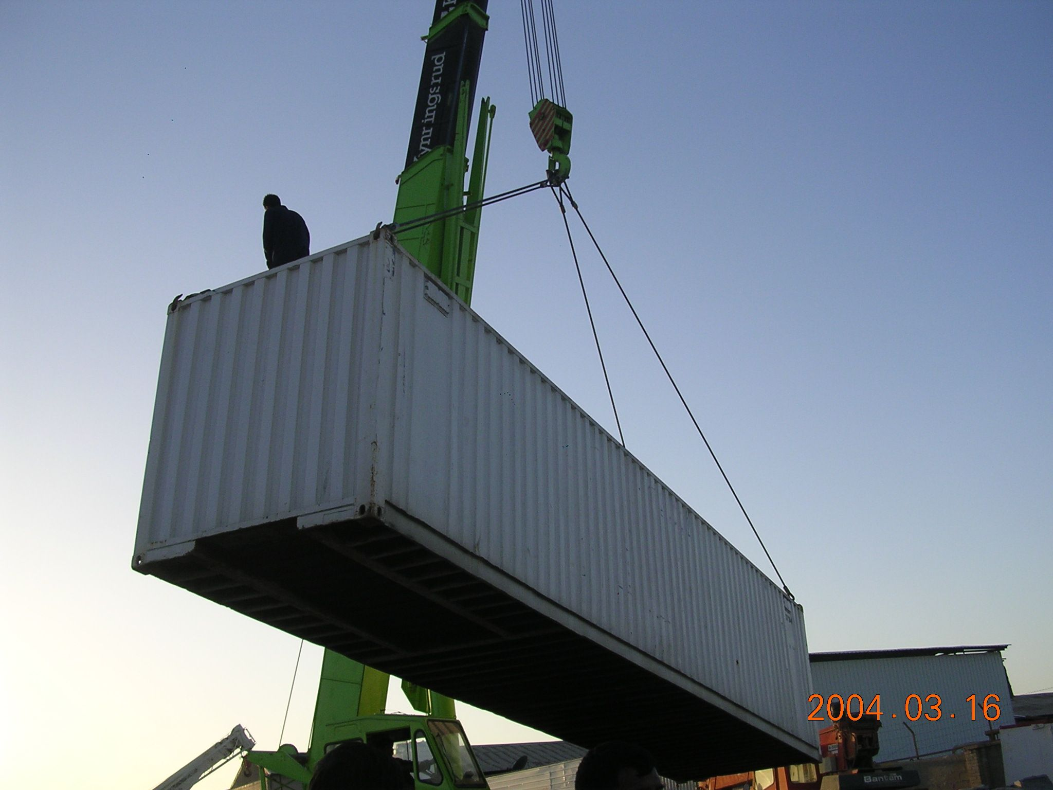 Loading A Conex In Kuwait Outdoor Decor Decor Outdoor
