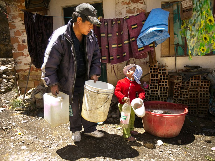 As the water supply in countries such as Bolivia drips away