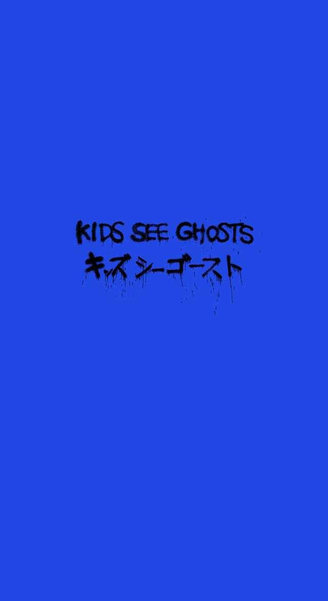 Kids See Ghosts Kanye iPhone Wallpaper in 2020 Yeezus