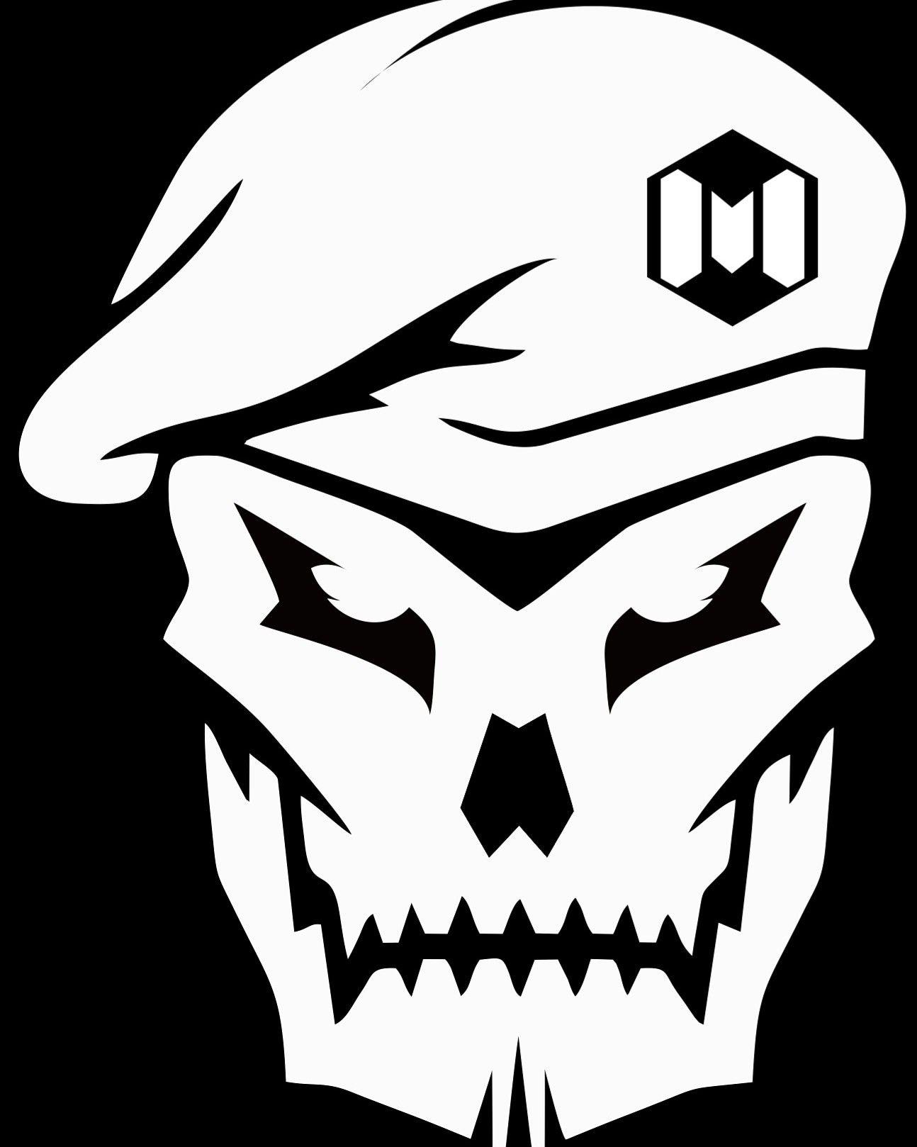 Logo Call Of Duty Mobile Tengkorak