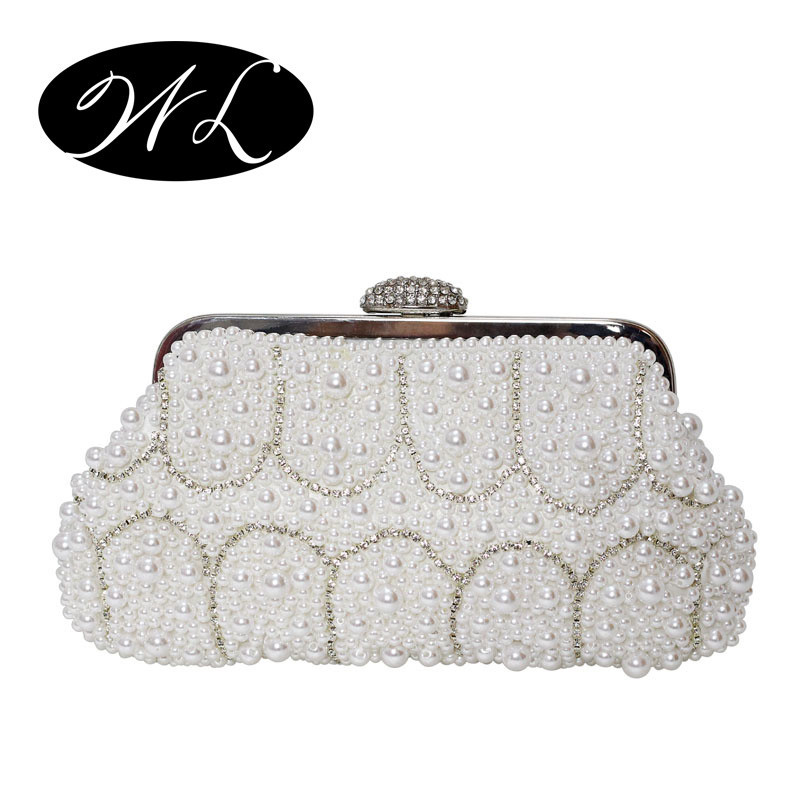 46.99$  Buy here - http://vihks.justgood.pw/vig/item.php?t=lltyj21138 - Clutches Evening Bag lovely fashion pearl with wedding