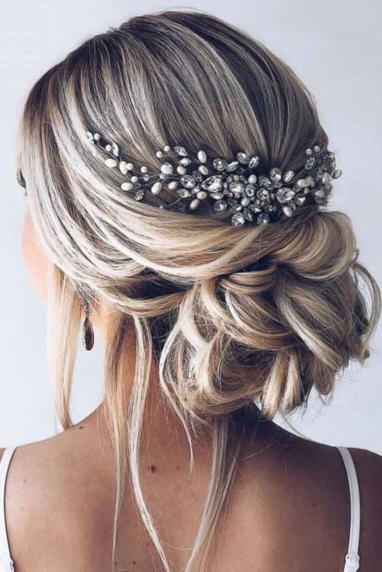3 Amazing Medium Length Wedding Hairstyles In 2020 Bridal Hair Updo Elegant Wedding Hair Wedding Hair Inspiration