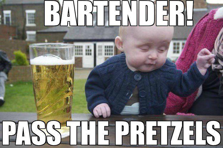 Funniest Meme Instagram : Bartender #please #pass #the #pretzels instagram theory