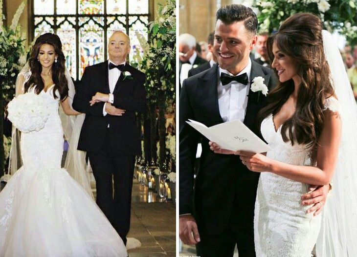 Michelle Keegan And Mark Wrights Wedding Day
