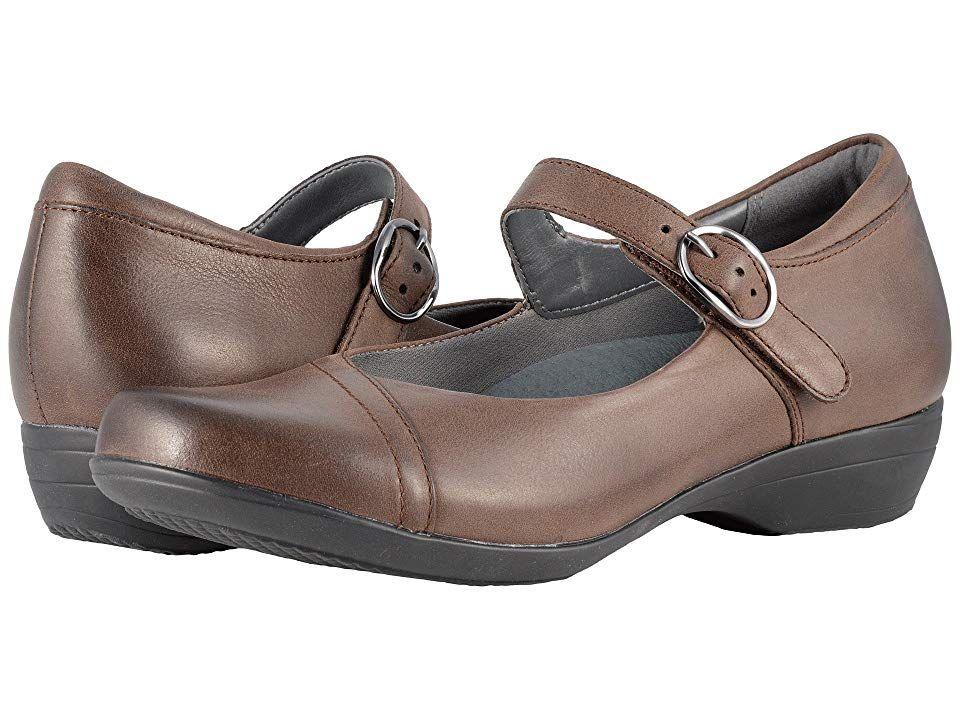 0b521ec2738 Dansko Fawna (Chocolate Burnished Nappa) Women s Shoes. You ll fawn over the