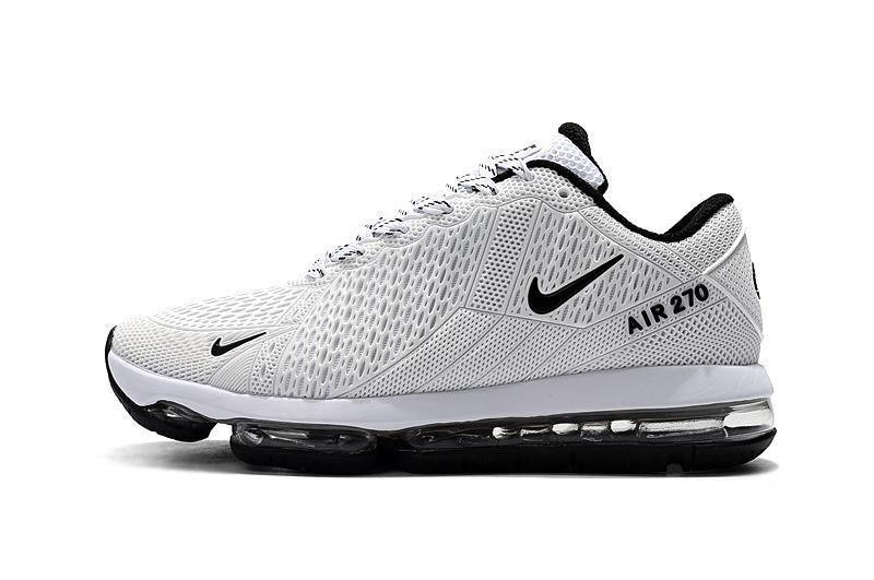 135e881cc8cd Spring Summer 2018 Original Nike Air Max 270 Flair KPU 2018 Latest Styles  Running Shoes White Black