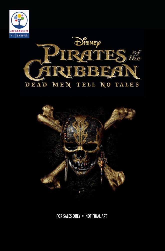 Pirates Of The Caribbean At The Movies 1 Joe Books Inc Comic Book Walt Disney At Worlds End Curse Of The Black Pirates Of The Caribbean Dead Man Caribbean