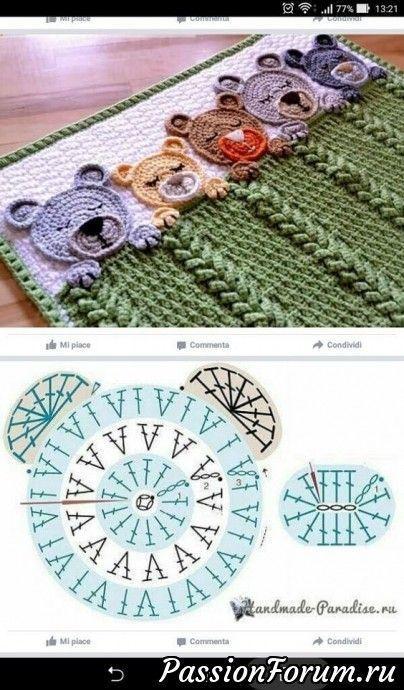 Haken. Ideen, Ornamente aus dem Internet. – schreiben - Heidi Königstetter #crochethooks