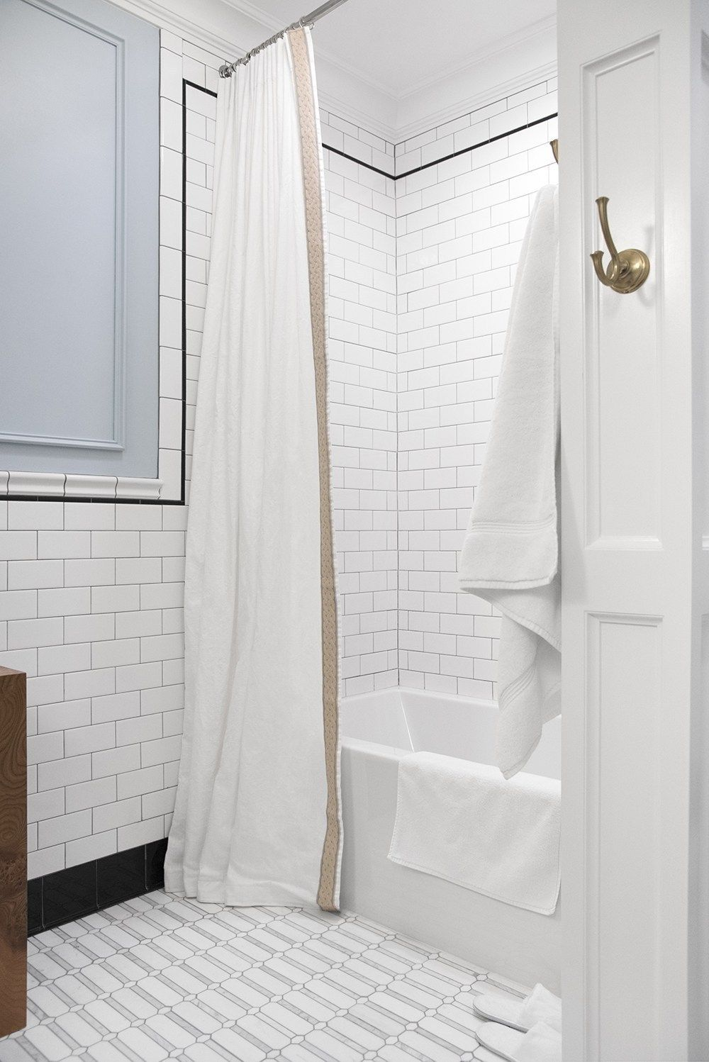 10 Diy Projects To Try This Weekend Extra Long Shower Curtain