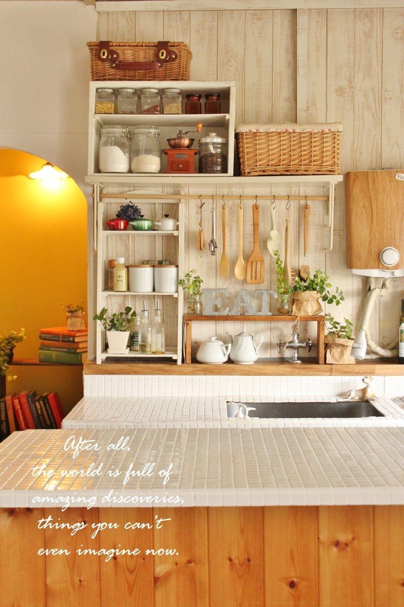 北欧風インテリアのおしゃれキッチン事例50 の画像 賃貸マンションで海外インテリア風を目指すdiy ハンドメイドブログ Paulballe ポールボール 自宅で キッチンデザイン キッチン おしゃれ