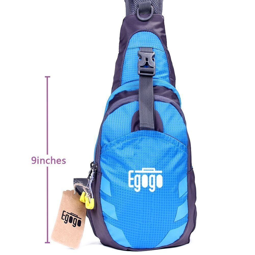 Check out the product reviews around EGOGO Multi-functional 3 Layers Hiking  Cycling Bag Sling Pack with Adjustable Shoulder Strap Cross Body Chest Bag  ... bb98dcf58023f
