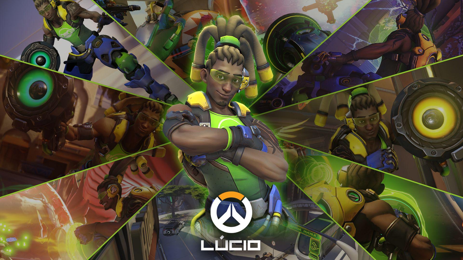Overwatch (Gameplay Lucio) - YouTube
