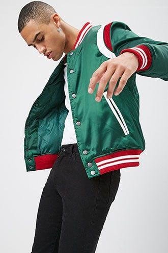 Jordan Craig Colorblock Varsity Jacket #varsityjacketoutfit