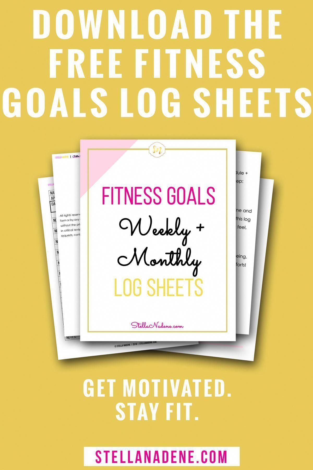 Keep your fitness commitment to yourself with this free printable fitness planne... -  Keep your fit...