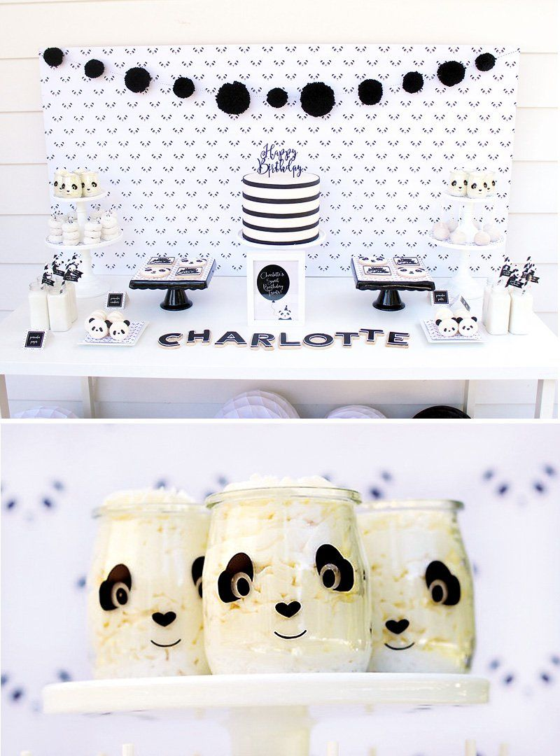 """Playful """"Party Like a Panda"""" Birthday Party"""