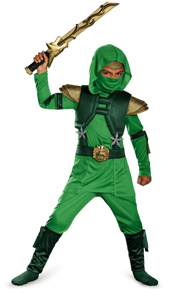 Stealth Ninja Ninjago Cosplay Costume Fancy Dress Party Halloween Child Kid Boy