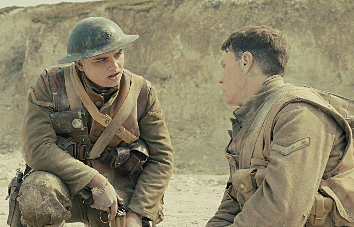 Georgemackayfans Georgemackay Georgemackayedit Capitaofantastico 1917 1917movie George Mackay Dean Charles Chapman Movie Scenes