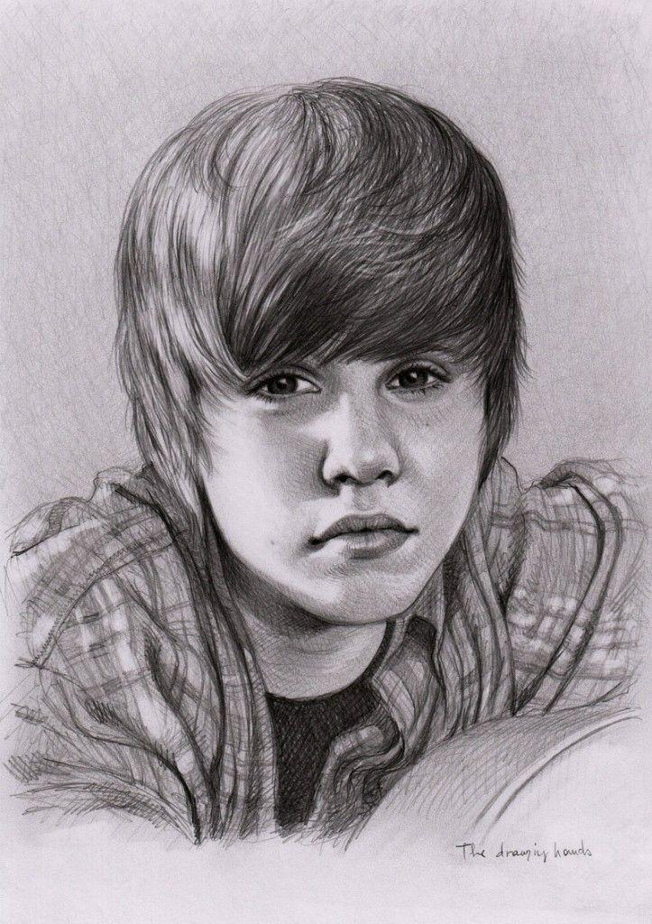 Justin Bieber Sketches Justin Bieber Sketch Portrait Justin Bieber Pictures