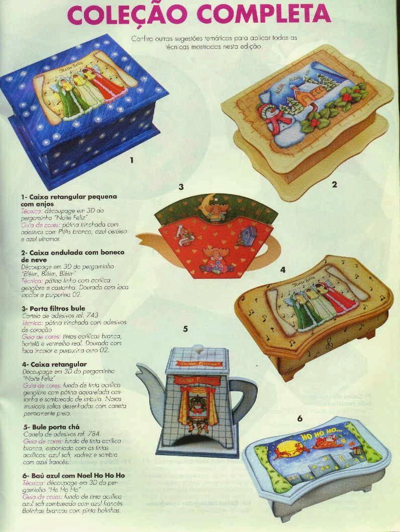 REVISTA Arte Decoupage n 7  Especial Natal