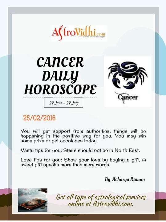 Get Your Cancer Daily Horoscope 25 02 2016 Read Your Cancer Daily