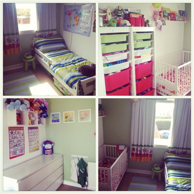 Siblings sharing room small room 2 small children our for Sibling bedroom ideas