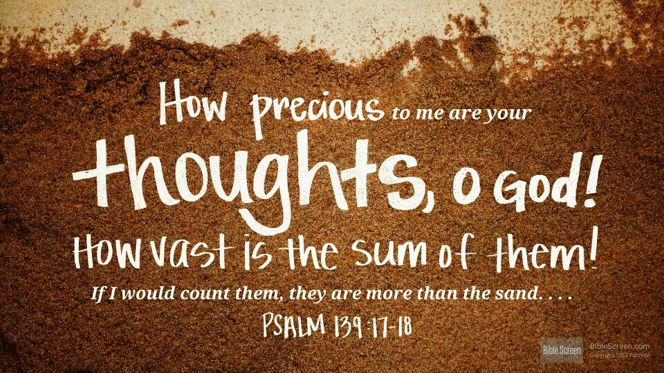 Psalm 139:17–18 http://ref.ly/Ps139.17-18 via @Logos