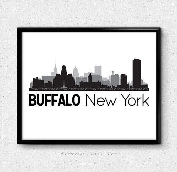 Hey, I found this really awesome Etsy listing at https://www.etsy.com/listing/244903659/buffalo-new-york-new-york-print-new-york