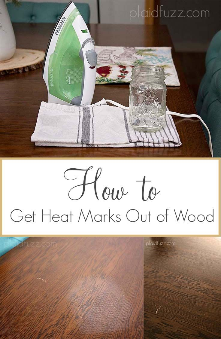 Getting Heat Marks Out Of Wood The House Of Plaidfuzz Cleaning Hacks Cleaning Painted Walls Easy Cleaning Hacks [ 1128 x 736 Pixel ]