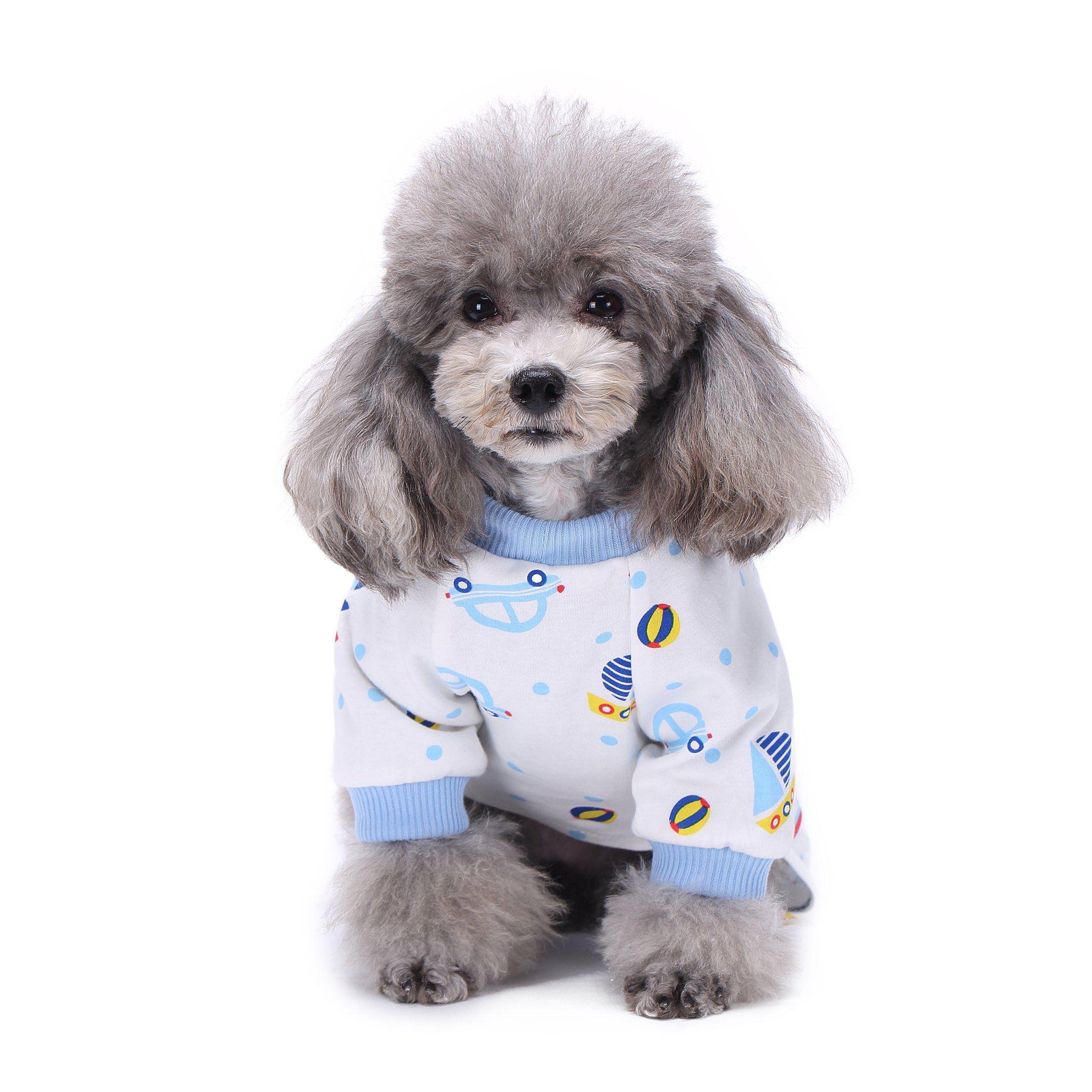 Bondogland Cute Car Dog Clothes For Small Dogs Puppy Cotton
