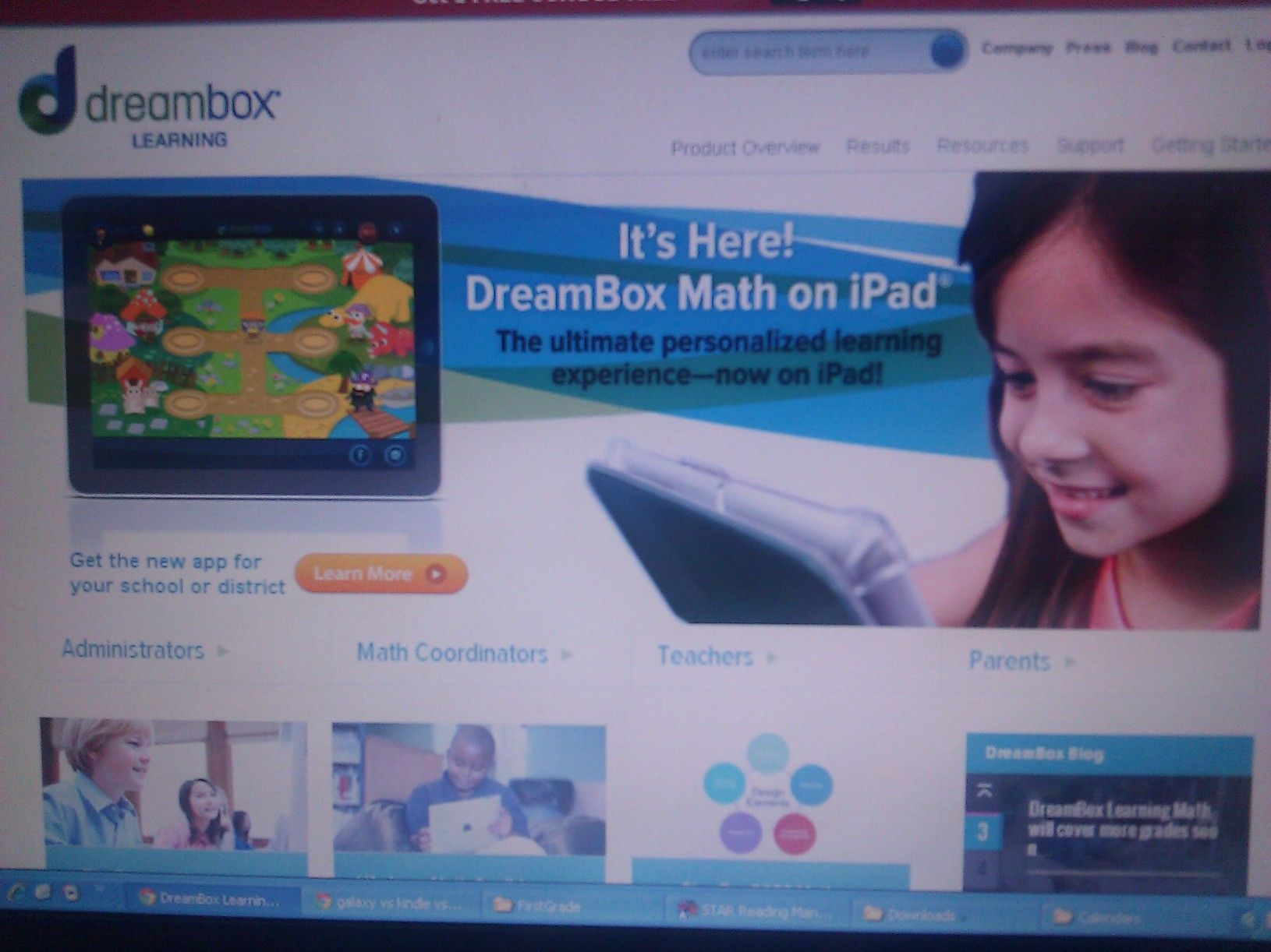 Access DreamBox Learning\'s Math Program, an online, Intelligent ...