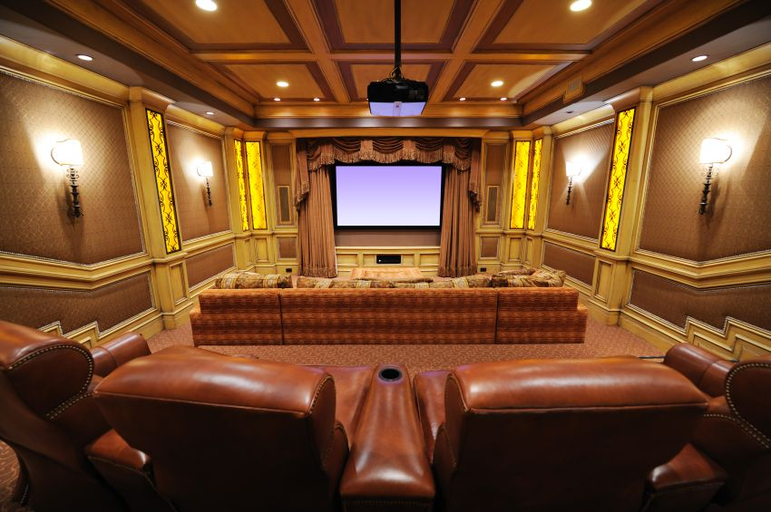 100 awesome home theater and media room ideas for 2017 for Luxury home theater rooms