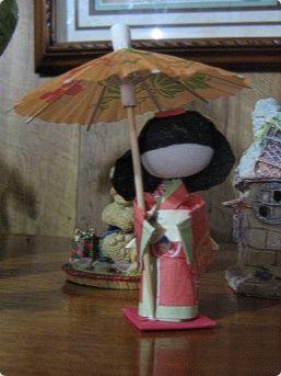 Washi doll 6 cm #3 | Flickr - Photo Sharing!