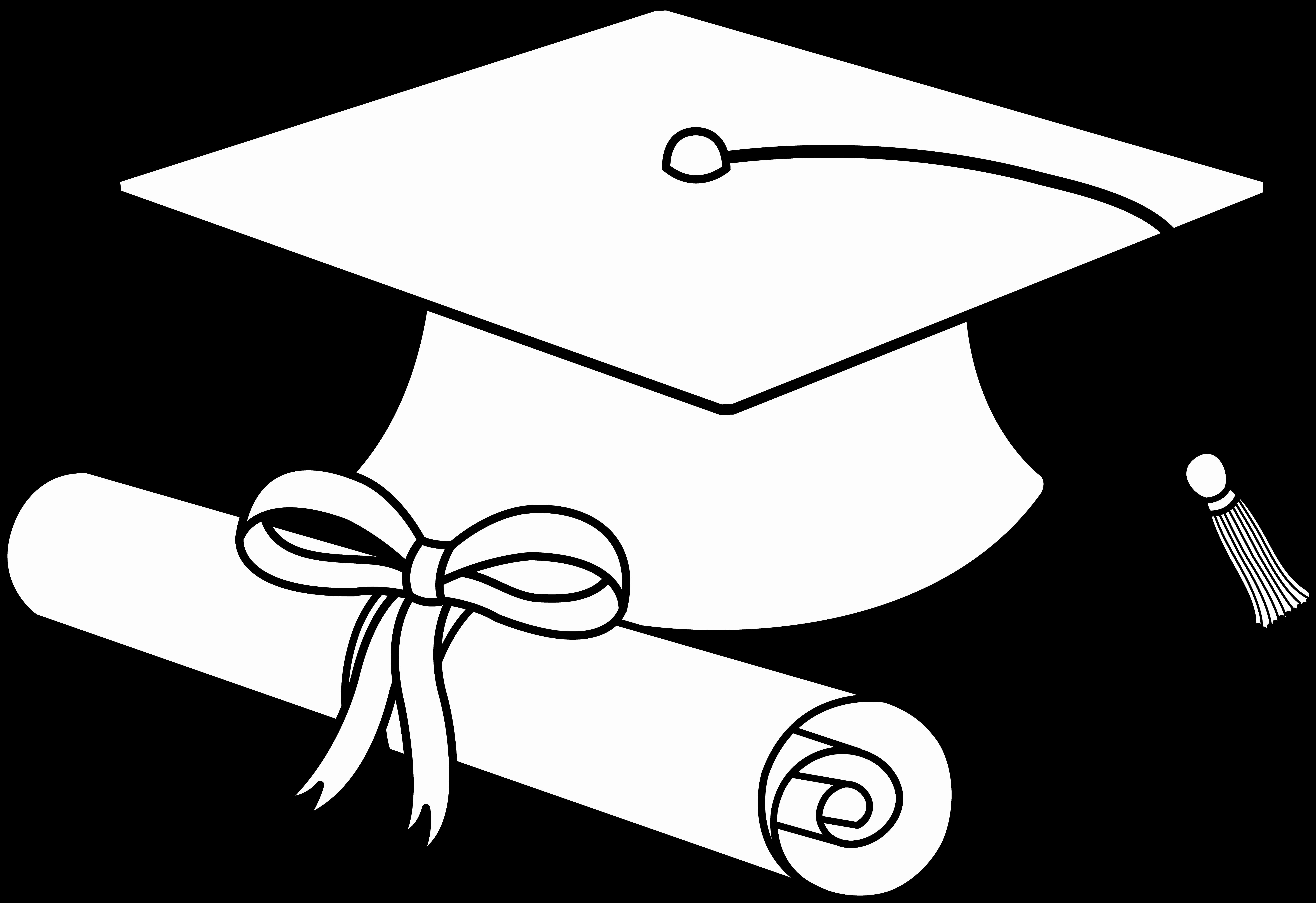 24 Graduation Cap Coloring Page In 2020 Graduation Cookies