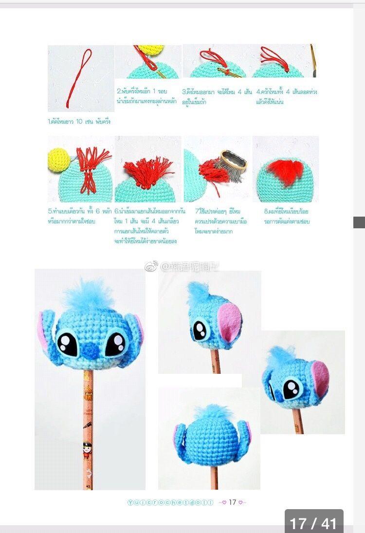 Pin de liliana vitelli en Crochet | Pinterest | Lápiz, Separador de ...