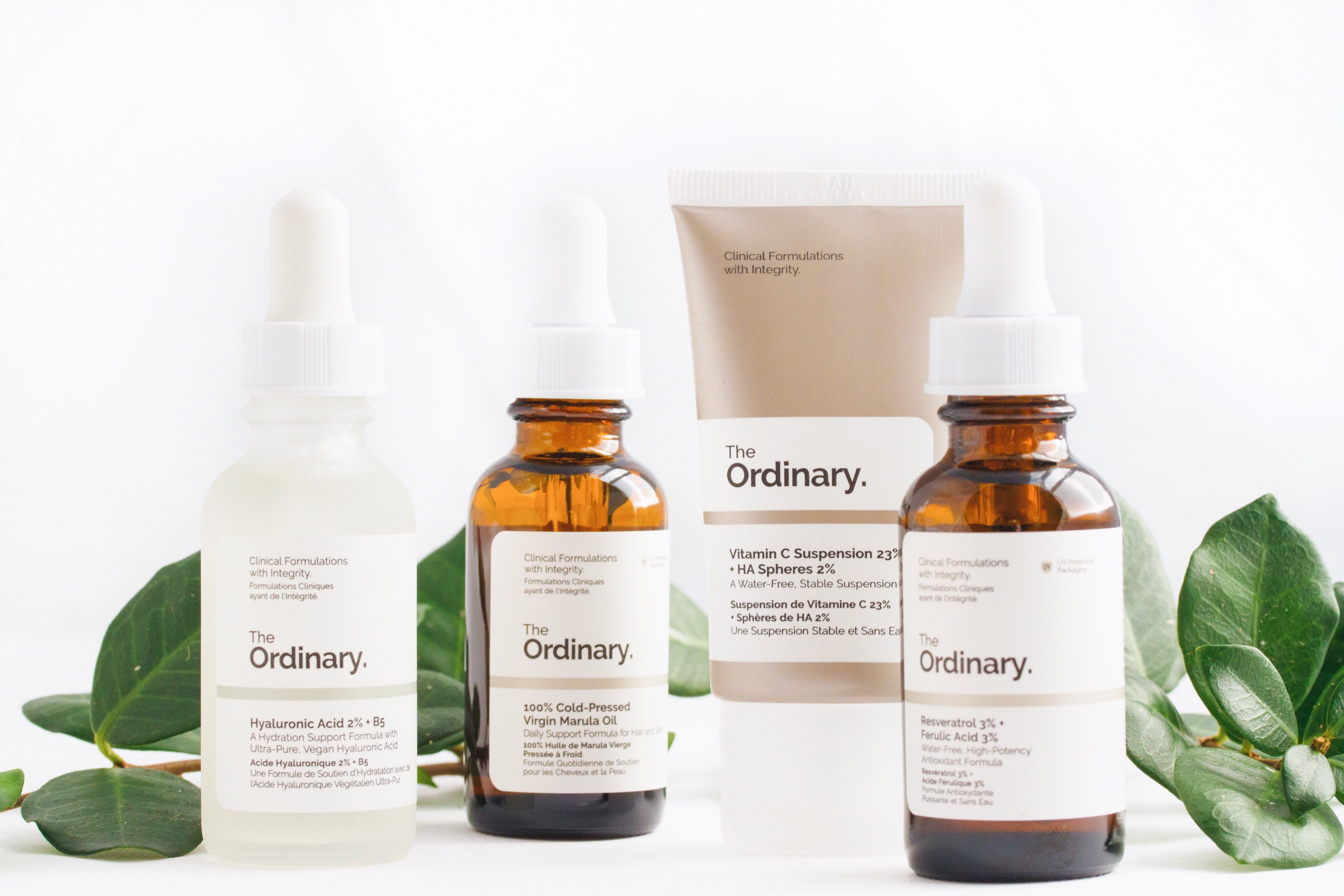 THE ORDINARY SKINCARE REVIEW Красота