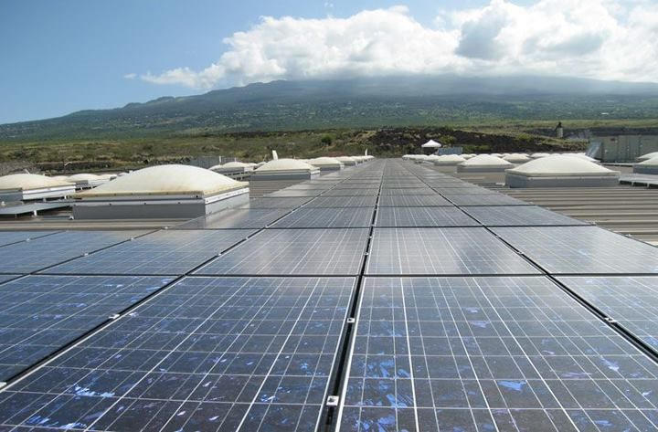 From The Roof Of The Costco In Beautiful Kona Hawaii Solar Solar Projects Solar Thermal