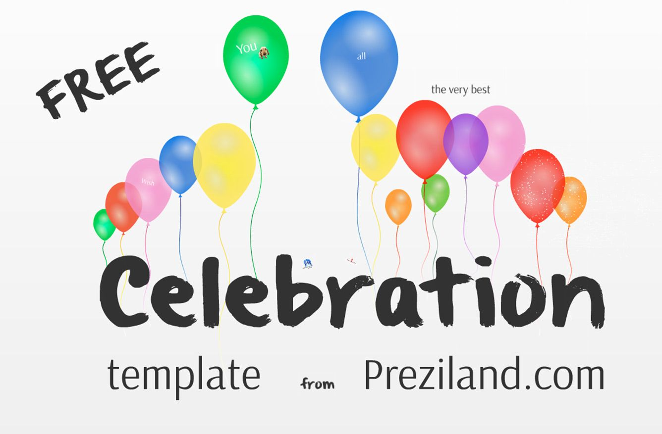 prezi templates for teachers - free prezi template celebration shops templates and