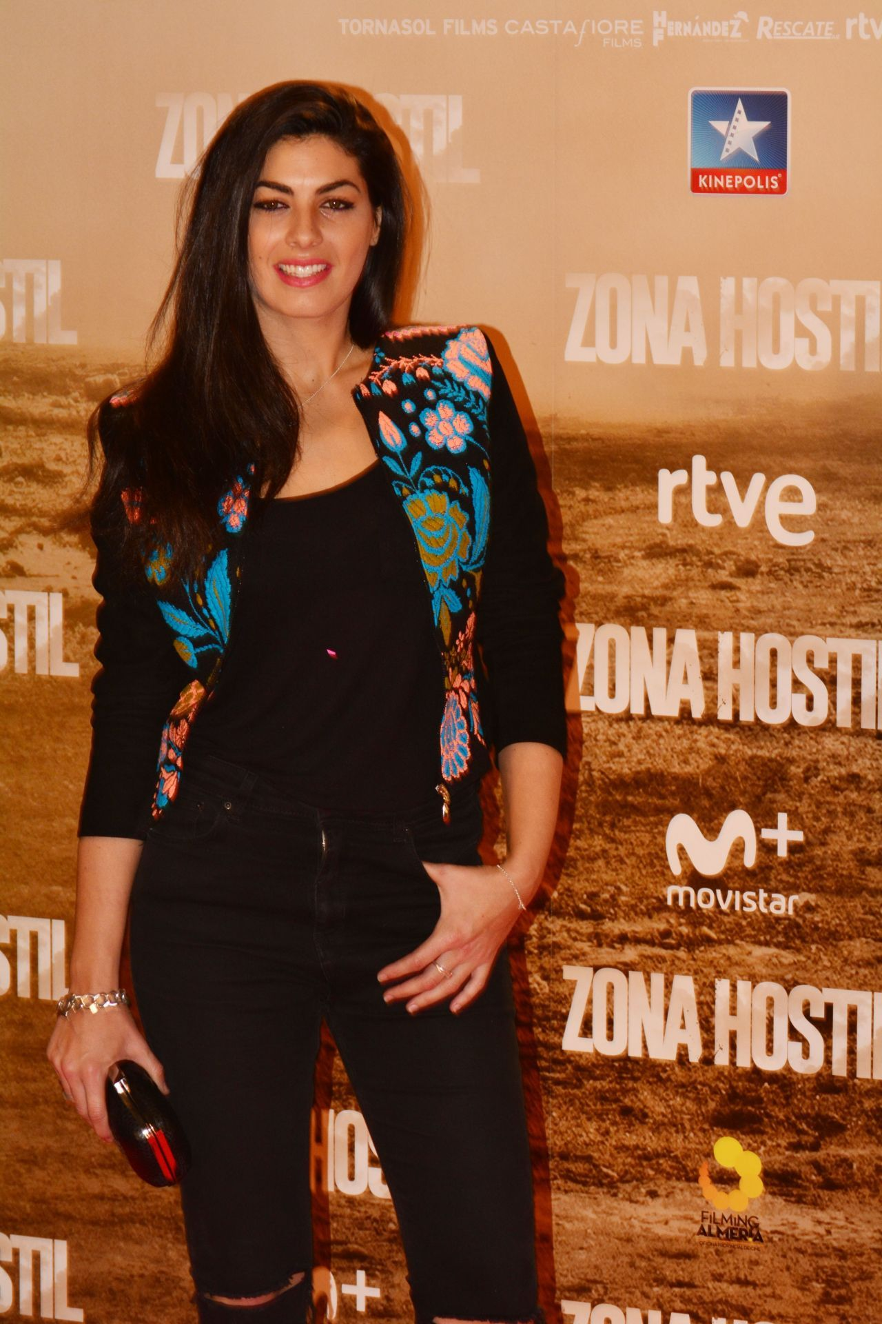 Nya de la Rubia  #NyadelaRubia Zona Hostil Premiere in Madrid 09/03/2017 Celebstills N Nya de la Rubia