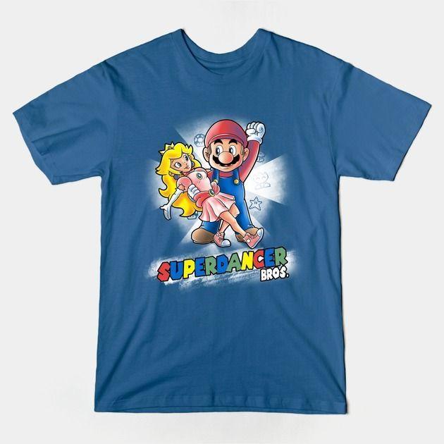 SUPERDANCER T-Shirt - Super Mario Bros T-Shirt is $14 today at TeePublic!