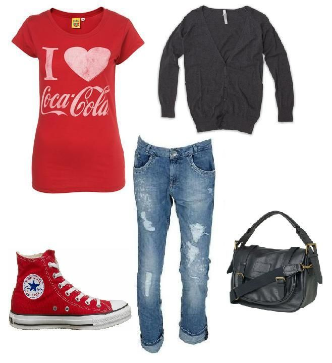 I <3 Coca Cola outfit