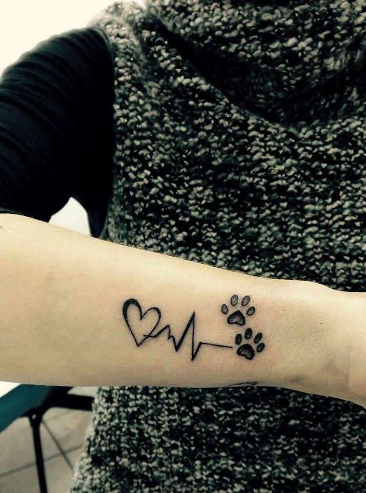 Photo of Heartbeat tattoo – meaning and 30 great ideas for the EKG motif