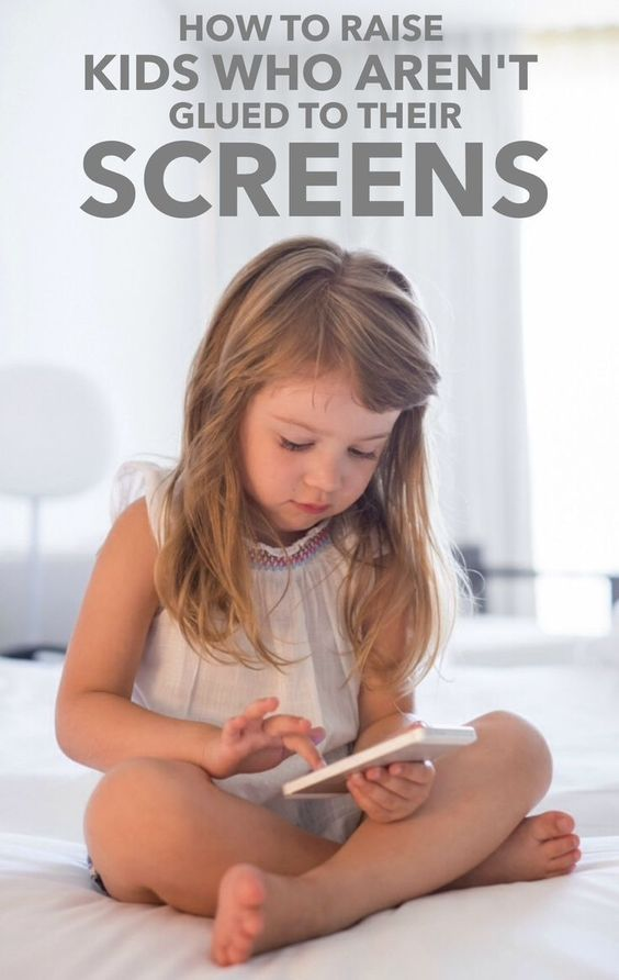 How to Raise Kids Who Aren't Glued to Their Screens #parenting