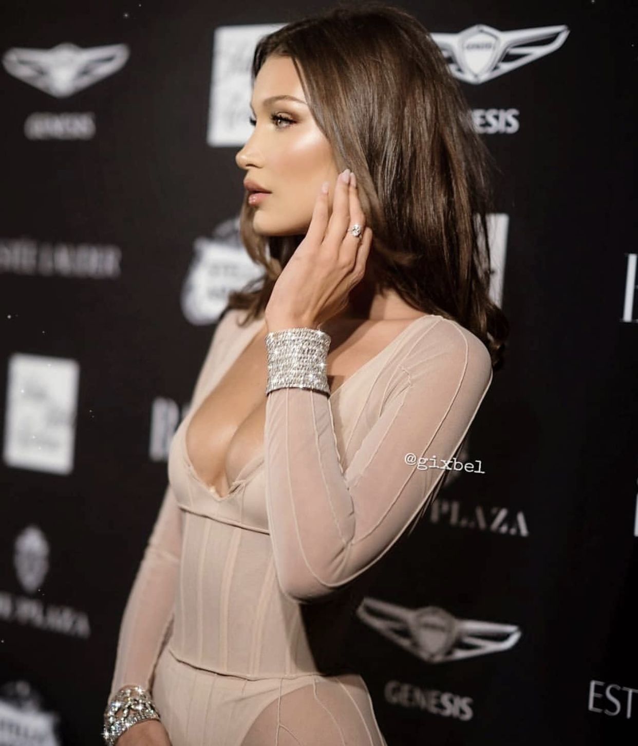 Pin by Patricia Balcer on Black Hair in 2020   Bella hadid